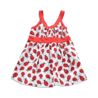 baby easter dress ladybug