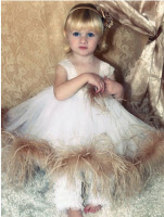 infant easter dresses ostrich feathers