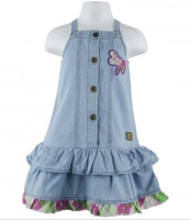 baby easter dresses denim