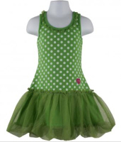 baby easter dresses green