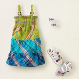 baby easter dresses plaid
