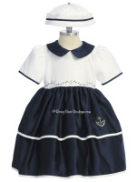 infant easter dresses navy