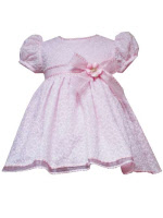 infant easter dresses pink pouffy sleeves