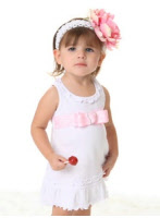 infant easter dresses ribbon