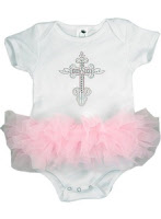 infant easter dresses cross onesie