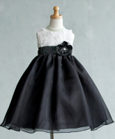 infant easter dresses black and white