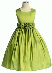 infant easter dresses green