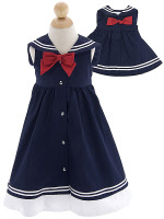 infant easter dresses sailor