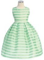infant easter dresses striped