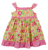 baby easter dresses flower pink
