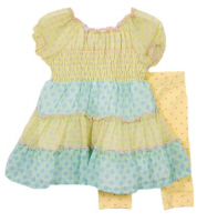 baby easter dresses yellow