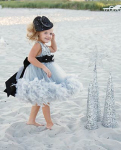 infant christmas dresses feathers