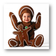 baby christmas costume tom arma gingerbread