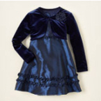 baby christmas dresses navy