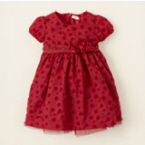 baby christmas dresses red