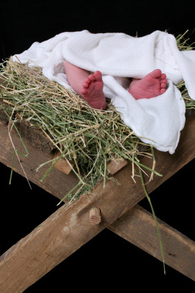 baby first christmas christ