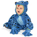 cheap baby halloween costumes blue frog
