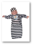 cheap baby halloween costumes convict