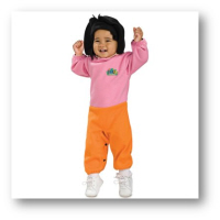 cheap baby halloween costumes dora the explorer