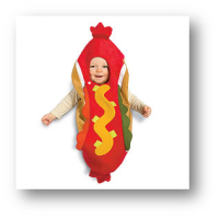 cheap baby halloween costume hot dog