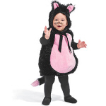 cheap baby halloween costumes kitty