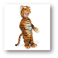 cheap baby halloween costume tiger