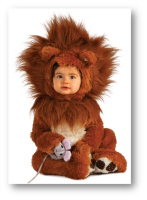 family Halloween costumes lion