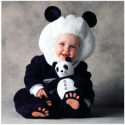 Halloween infant costumes panda