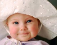 infant sun hats smile